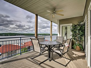 NEW! Waterfront Lake Ozark Condo w/ Deck & Pools