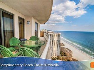 Samy's Oceanfront w/Wraparound Balcony. Free Wi-Fi. And the Perfect View!!
