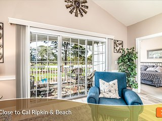 Enjoy Morning Coffee Overlooking Golf Course! #1 Location. Cal Ripken. Beach!!