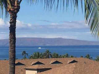 Maui Vista #3-404 2Bd/2Ba Huge Ocean View, Charlie Young's Beach, Sleeps 6