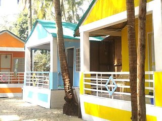 Coloursfull Beach Cottages in Agonda
