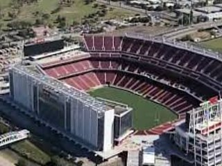Levi's stadium-Home of our San Francisco 49ers NFL team-easy to get to via light rail