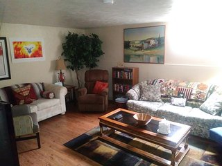 Comfortable and spacious two bedroom basement apt in Denver by Sloan's lake