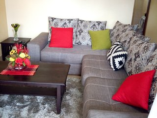 letting this 1 bedroom fully furnished at westlands school lane , behind sarit c