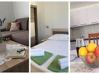 2Bedroom Family Apartment, WiFi, Terrace & Parking