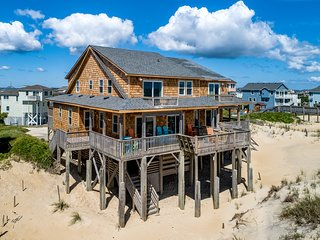 The Bluffs South | Oceanfront | Hot Tub | Nags Head