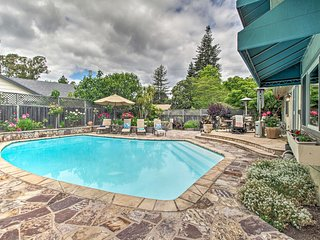 NEW-Charming Home w/Pool, At Foot of Wine Country!