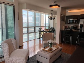 Luxury 2Bed + 2Bathroom Condo with Free Parking