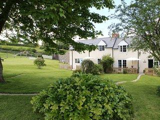 ROSE COTTAGE , Pole Rue Farm, edge of pretty village of Combe St Nicholas