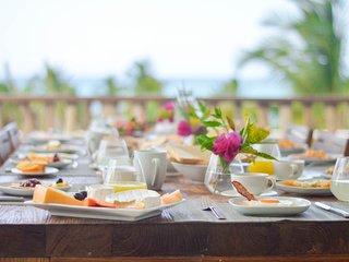 Spectaculaire villa vue mer petit déjeuné inclus