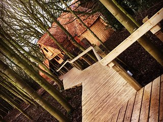 Luxury Treehouse in grounds of Medieval Baxby Manor