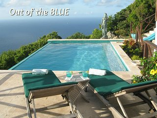 'Out of the Blue' Apartment - Booby Hill, Windwardside - Saba, Dutch Caribbean