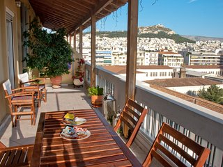 Unique Acropolis View Penthouse in the center of Athens