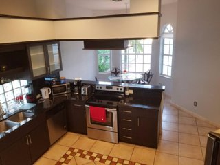 Spacious 3BD home with a tropical backyard in a great location