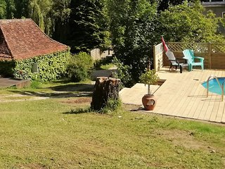 1 bedroom cottage/gite for 2 people with (shared) swimming pool in the Dordogne