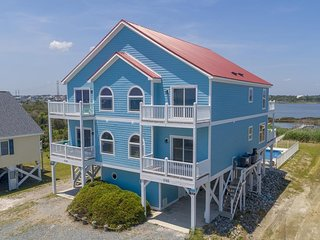 New River Inlet Rd 1745 Oceanview! | Fireplace