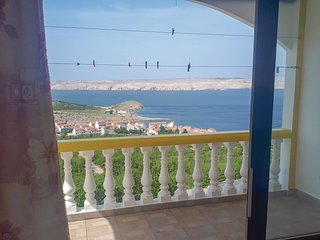 Beautiful apartment in Stinica w/ WiFi and 1 Bedrooms