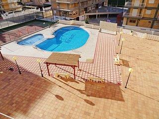 Apartamento INFANTE - Primera linea- ( 3 Dormitorio para 6/7 personas )