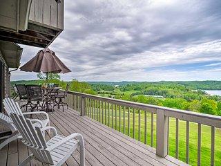 Condo w/ Deck & Golf Course/Norris Lake Views