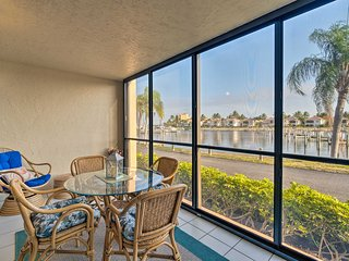 NEW! Quiet First-Floor Condo w/ Marina View & Pool
