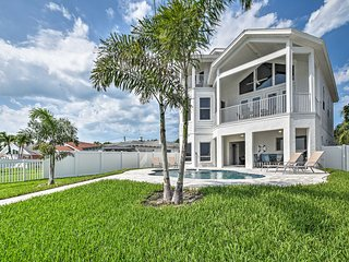 NEW! Indian Rocks Home w/ Game Room, Walk to Beach