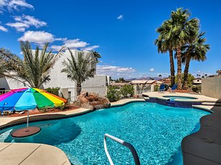 NEW! Luxury Home w/ Pool & Spa 3 Mi to Lake Havasu