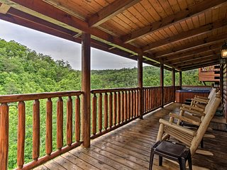NEW! Family Cabin w/Game Room, 2mi to Pigeon Forge