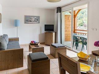 Appartement spacieux et accueillant pour 6 | Accès fitness !