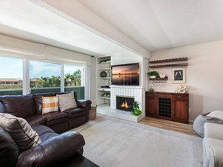 Spacious Home w/ Fenced Patio, Grill & Balcony - 1 Mile to Beach & Pier Ave