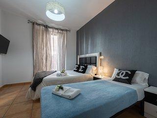 Vista de la habitación incluida cama individual / View of the bedroom with adicional single bed