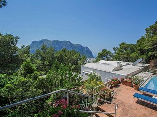 Capri Villa Sleeps 12 with Pool and WiFi - 5248141