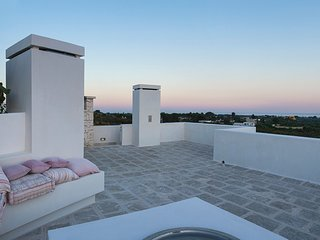 Manduria Villa Sleeps 8 with Pool Air Con and WiFi - 5248122