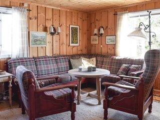 Stunning home in Sjusjoen w/ 2 Bedrooms