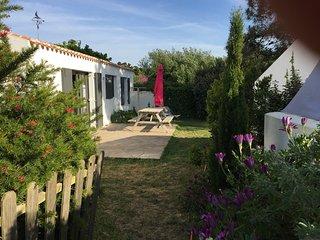 La Cambusette, jolie maison de plain pied à proximité de la plage, 5vélos inclus
