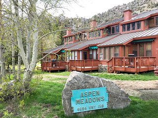 Aspen Meadows is centrally located on the June Lake Loop.