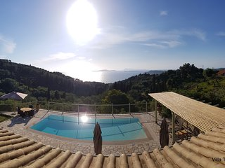 Villa Theia. Holiday Villa in Arillas. Corfu