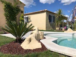 Le Petit Mas des Lavandins avec piscine en Provence pour 5 personnes