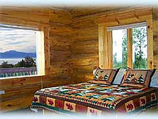 Mindfullness - B&B room with a view of the Kachemak Bay and Kenai Mountains