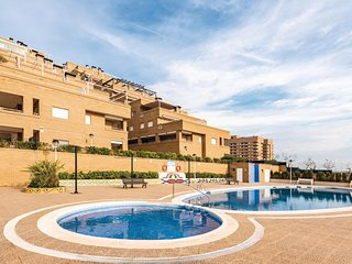Beautiful apartment in Oropesa del Mar w/ WiFi, Outdoor swimming pool and 2 Bedr