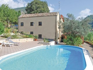 Beautiful home in Salisano RI w/ Outdoor swimming pool, WiFi and 4 Bedrooms