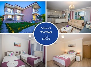 Twins Villa Sogut Village Daily Weekly Rentals