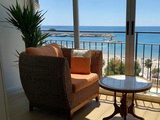 PLS 19 205, Coqueto apartamento con piscina y vistas al Mediterraneo