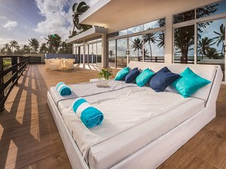 All-inclusive luxury villa on the beach