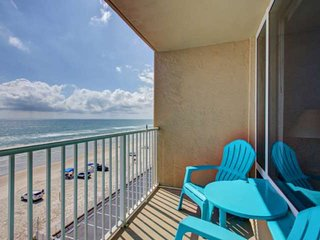 Tranquil 5th Floor Ocean Front Condo! Walking Distance to Pier, Mini Golf & Dini