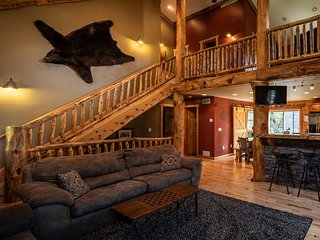 **Legendary Moose Lodge**Relax in Style in this Rustic beautifully finished home
