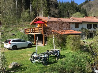 Moulin De Beny alpine style chalet apartment