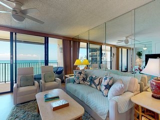 NEW! Amazing views at this waterfront condo w/balcony & pool! Family-friendly!