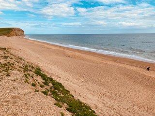 Freshwater beach Dorset.