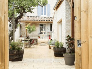 Location maison / Gîte 'Sources en Périgord' avec Hammam