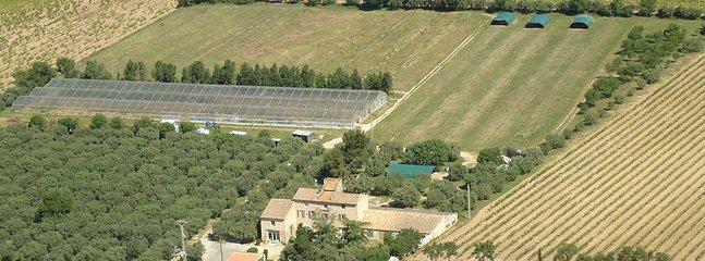 Perle de Provence se situe sur une propriété Bio de 5 hectares.